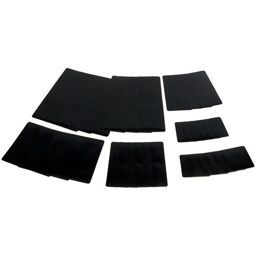 Wurth Tarpaulin Repair System Plaster Kit - PATNG-SET-MOBILE-BLACK Ref. 0880609005