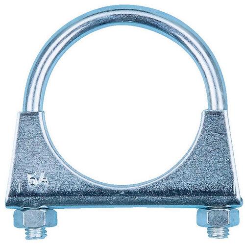 Wurth U-bolt Clamp U-bolt Clamp, Universal - PIPCLMP-UNI-(A2F)-M8-D2 3/8IN-60MM Ref. 088312 PACK OF 10