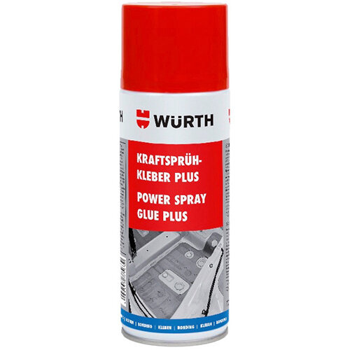 Wurth High-strength Spray Adhesive Plus - SPRADH-STRONG-PLUS-400ML Ref. 0890100064 PACK OF 12