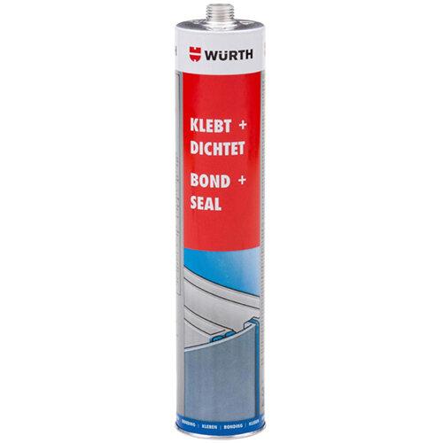 Wurth Structural Adhesive Bond+Seal - STRUCADH-KD-DARKBROWN-300ML Ref. 08901004 PACK OF 12