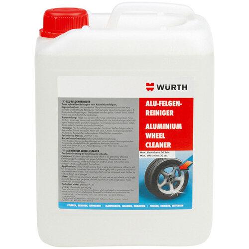 Wurth Aluminium Wheel Rim Cleaner - WHLCLNR-ALU-Canister-5LTR Ref. 089010205