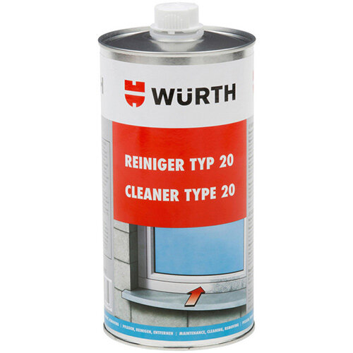 Wurth Cleaner Type 20 - PLACLNR-20-PVC-1LTR Ref. 089210011 PACK OF 20
