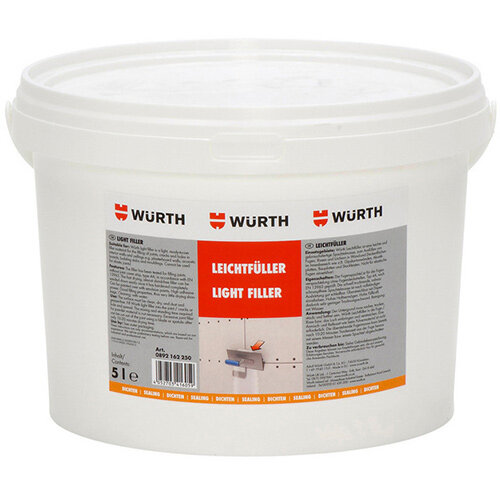 Wurth Filler Light Filler - FILR-(GAP-JOINTFILLER)-WHITE-5L Ref. 0892162250
