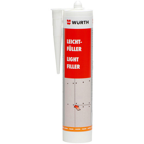 Wurth Filler Light Filler - FILR-(GAP-JOINTFILLER)-WHITE-310ML Ref. 0892162310