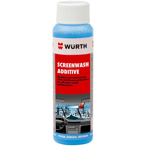 Wurth Windscreen Cleaner Screenwash Plus - Windscreen Wash Additive 125ML Ref. 0892332001 PACK OF 100