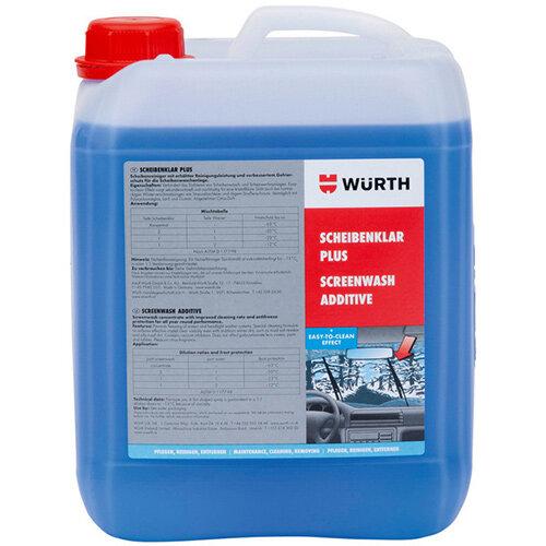 Wurth Windscreen Cleaner Screenwash Plus - WSCRNCLNR-ANTIFREZ-PLUS-5LTR Ref. 0892332850