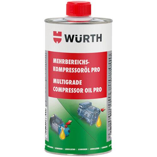 Wurth Multi-range compressor oil Pro - COMPROIL-MULTIGRADE-PRO-1000ML Ref. 0892764123