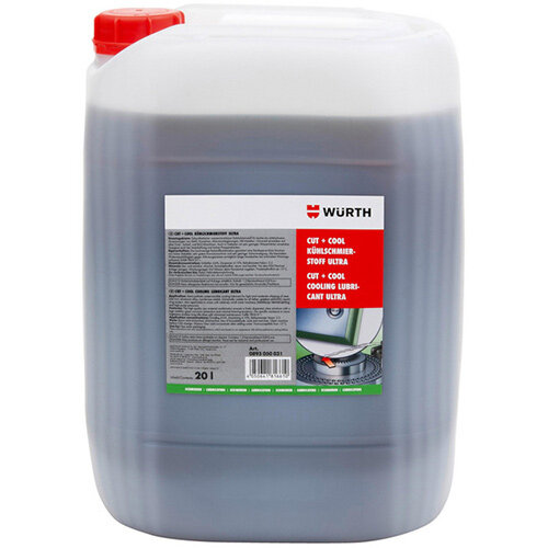 Wurth Cooling Lubricant Cut+Cool Ultra - CLLUB-(CUT-COOL-ULTRA)-20LTR Ref. 0893050031