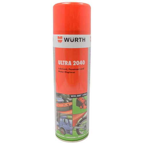 Wurth Multi-purpose Lubricant Ultra 2040 - LUB-MULTI-(ULTRA 2040)-PTFE-500ML Ref. 0893085500