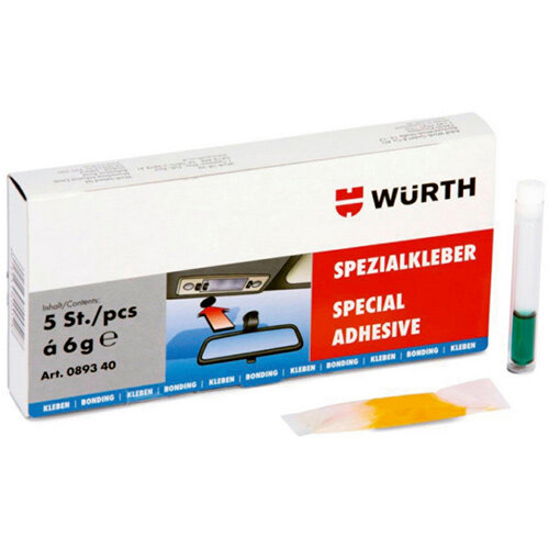 Wurth Special Adhesive - ADH-GLS/MET-2C-Special Ref. 089340 PACK OF 5