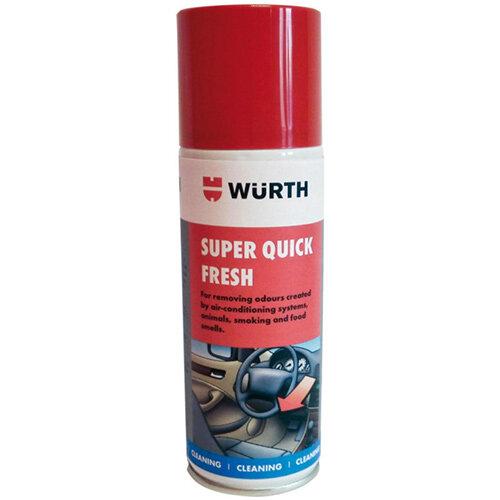 Wurth Deodoriser Super Quick Fresh - DEODOR-(SUPER Quick FRESH CITRUS)-150ML Ref. 0893764520