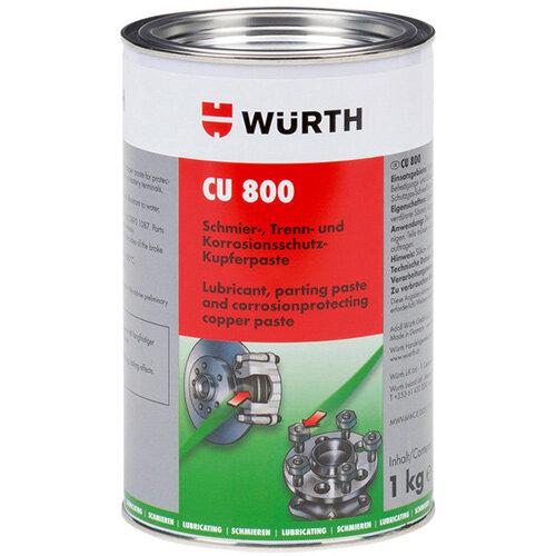 Wurth Copper Paste CU 800 - PAST-CU-800-CAN-1KG Ref. 08938002