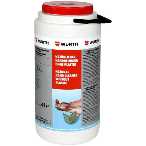 Wurth Natural Hand Cleaner, Plastic-free - HNDCLNR-NATUR-4LTR Ref. 0893900000