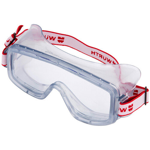 Wurth Full-vision Safety Goggles - FULLVIEWGLS-ACETATEGLASS Ref. 0899102100