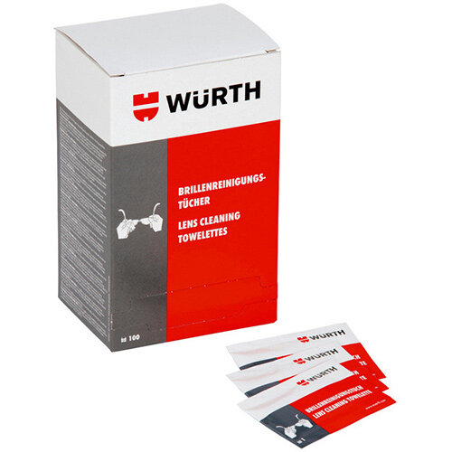 Wurth Glasses CLeaning Cloth - CLNCLTH-GLS Ref. 0899102300 PACK OF 100