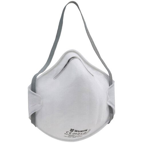 Wurth Cup-Shaped Mask CM 3000 FFP2 NR D - BREAMASK-CM3000-(FFP2-NR-D) Ref. 0899110502 PACK OF 20