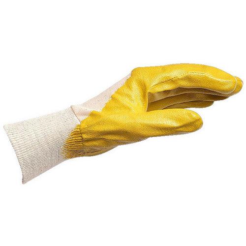 Wurth Yellow Nitrile Glove Economy - PROTGLOV-NTR-ECONOMY-Yellow-SZ10 Ref. 0899410110 PACK OF 12