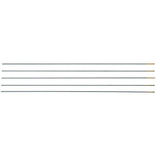 Wurth Tungsten Electrode, Gold - TNGELTRD-TIG-GOLD-WLV17/WLT17/26-3,2MM Ref. 0984150132 PACK OF 10