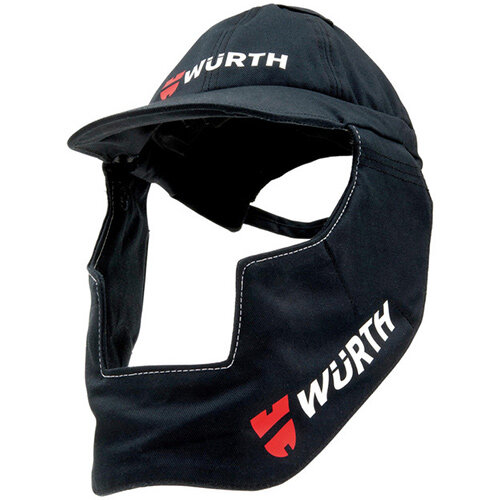 Wurth Textile Head and Neck Protection - AY-HEAD-NECK-Protection-WELDCAP-WSC-9-12 Ref. 0984700313