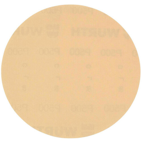 Wurth Vehicle Dry Sandpaper Disc Arizona Perfect - DSPAP-HOKLP-P500-D150MM Ref. 5506343050 PACK OF 100