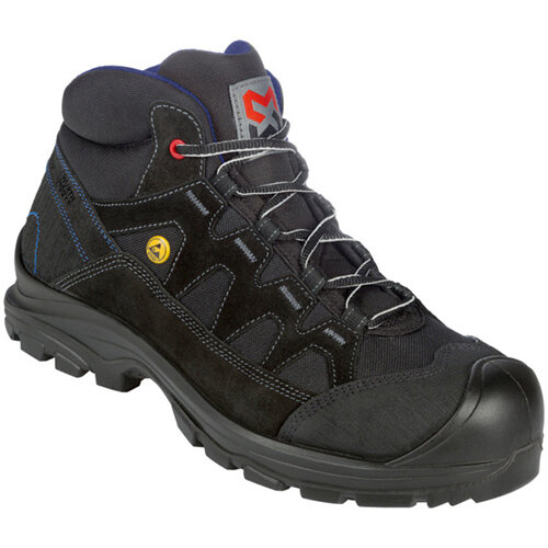Wurth Comfort S2 FLEXITEC ESD Safety Boots - Boot Comfort FLX S2 Black 44 Ref. M021021044