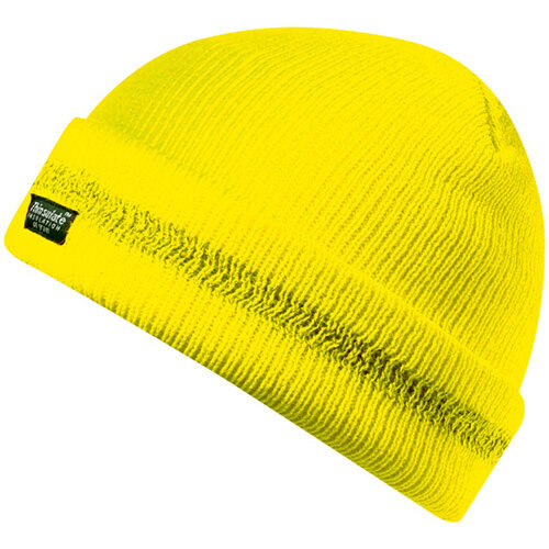 Wurth High-visibility Protective Knitted Hat - STRICKMÜTZE GELB Ref. M036030999