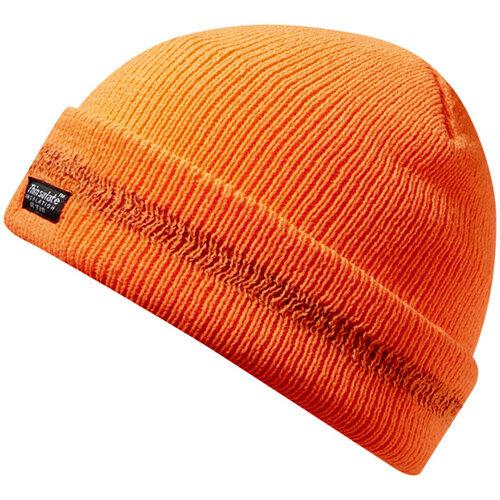 Wurth High-visibility Protective Knitted Hat - STRICKMÜTZE ORANGE Ref. M036031999
