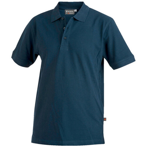 Wurth Polo Shirt - MODYF POLO-SHIRT MARINE GR.M Ref. M047060001