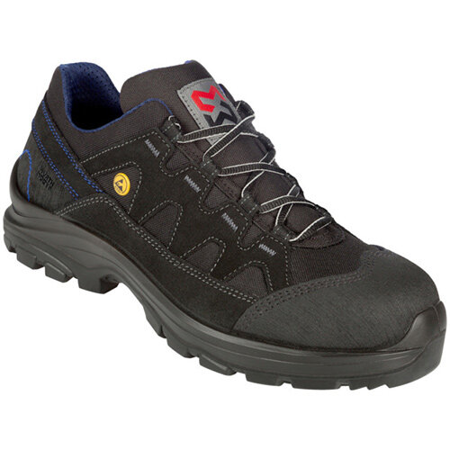 Wurth Comfort S2 FLEXITEC ESD Safety Shoes - Shoe Comfort FLX S2 ESD Black 45 Ref. M417013045