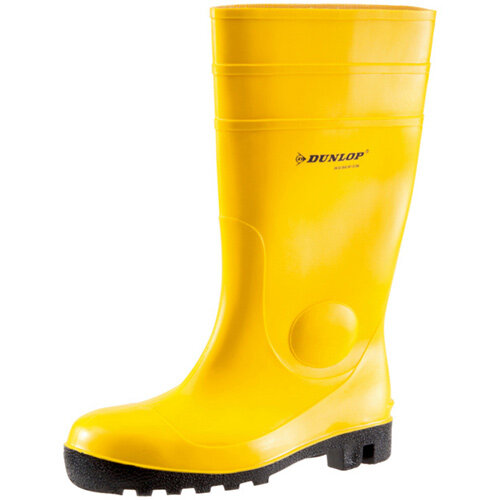 Wurth Dunlop S5 Rubber Safety Boots - DUN WELLINGTON S5 Yellow 42 Ref. M423008042