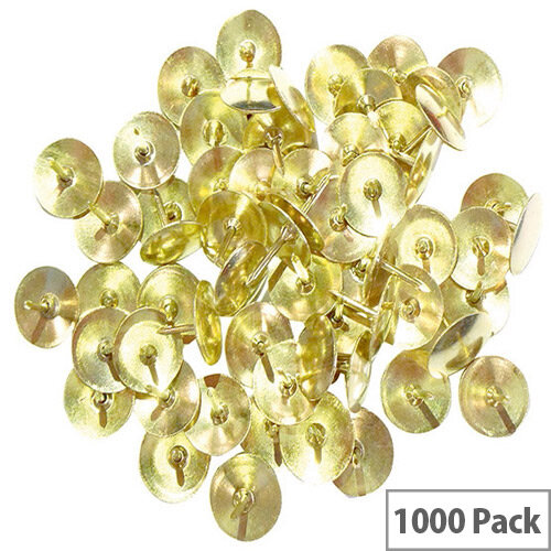 Clipper Drawing Pin 9.5mm Pack of 100 x 10 34231