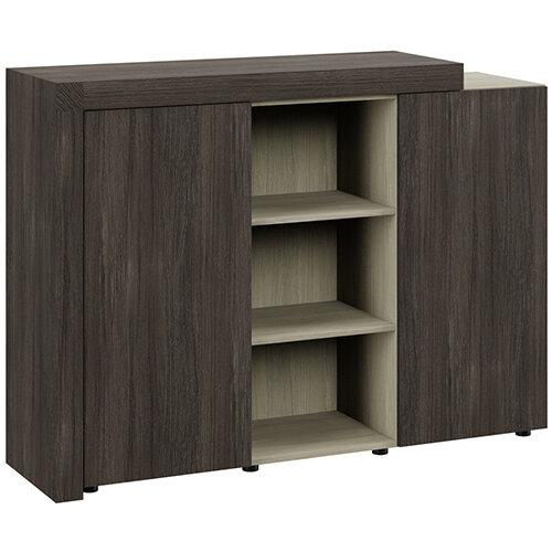 Auttica Cupboard Dublin Oak &Arctic Oak W1600xD450xH1170mm