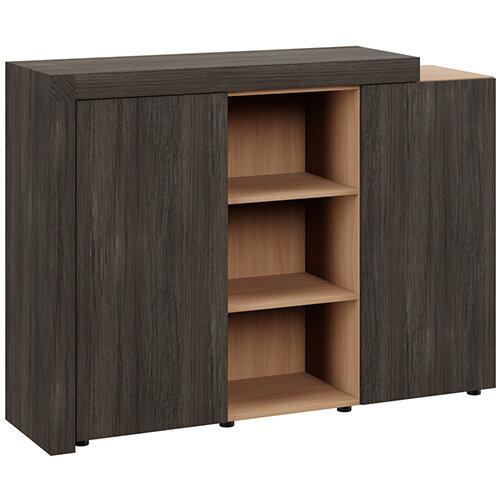 Auttica Cupboard Dublin Oak &Beech W1600xD450xH1170mm