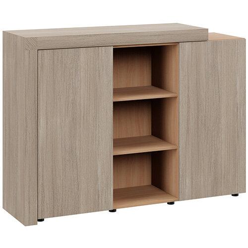 Auttica Cupboard Madrid Oak &Beech W1600xD450xH1170mm