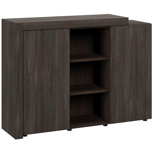 Auttica Cupboard Dublin Oak &Dark Walnut W1600xD450xH1170mm