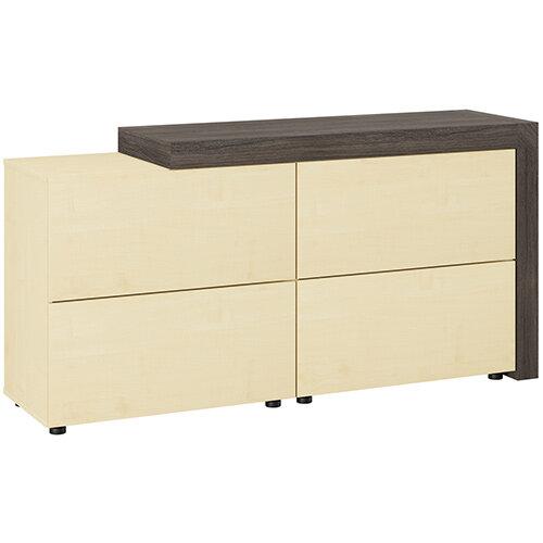 Auttica Cupboard Dublin Oak &Maple W1680xD450xH840mm
