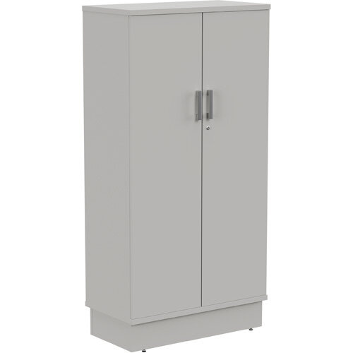 Grand Tall Cupboard With Lockable Doors W805xD420xH1615mm Grey