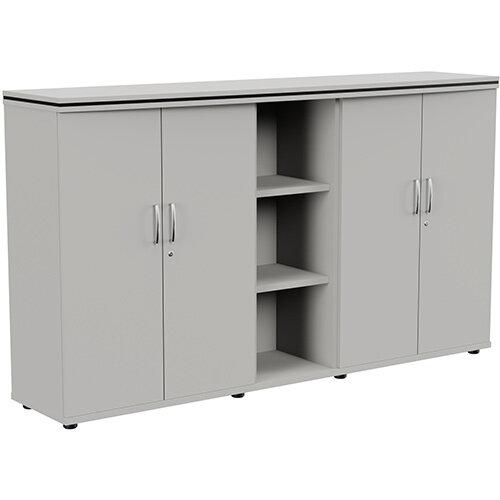 Oskar Medium Cupboard Grey W2005mm