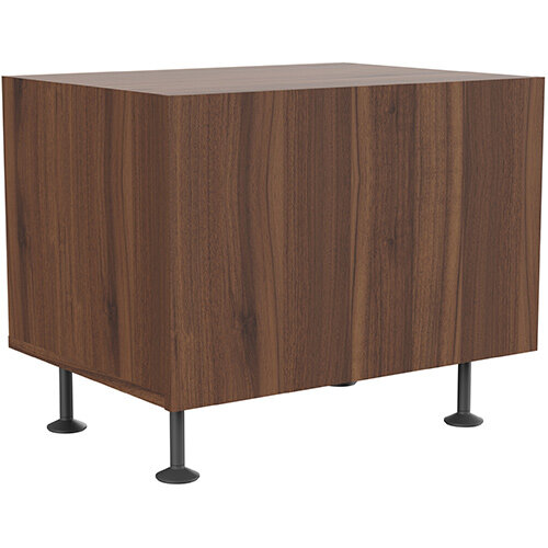 Soreno 1 Drawer Cabinet American Walnut