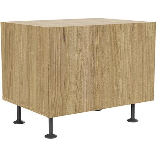 Soreno 1 Drawer Cabinet Natural Oak