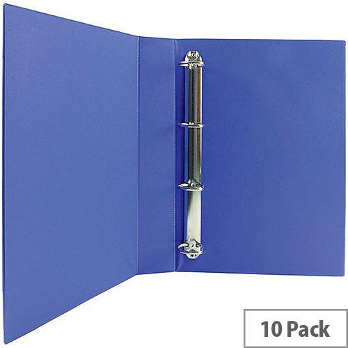 Presentation 4D-Ring Binder 40mm Blue Pack of 10 WX01331