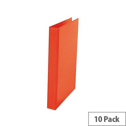 Ring Binder A4 Red Pack of 10 WX02004