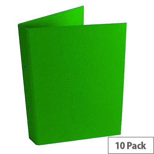 Ring Binder A4 Green Pack of 10 WX02008