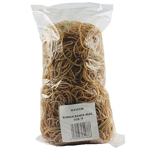 Rubber Bands 454g No. 18 WX10526