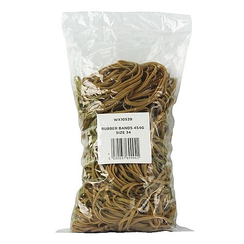 Rubber Bands 454g No. 34 WX10539