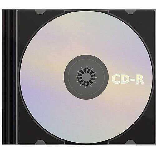 CD-R Slim Jewel Case 80min 52x 700MB Pack of 1