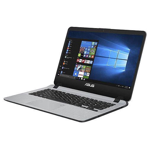Asus X407MA-BV212T Laptop • CPU: Intel Celeron Quad Core N4100 • Display: 14-inch 1366x768 HD • RAM: 4GB DDR3 • Storage: 500GB Hard Drive • OS: Windows 10 • Colour: Grey