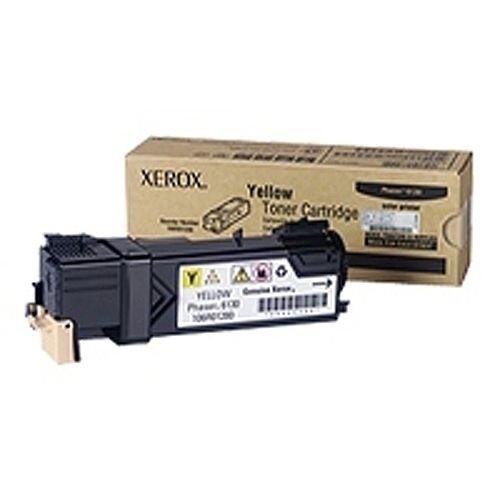 Xerox Phaser 6130 Laser Toner Cartridge Yellow 106R01280