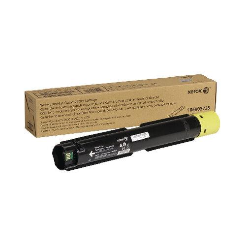Xerox Versalink C7020 C7025 C7030 Extra High Capacity Toner Cartridge Yellow 106R03738