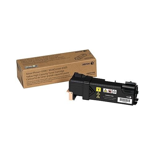 Xerox Toner Cartridge Standard Capacity Yellow 106R01593
